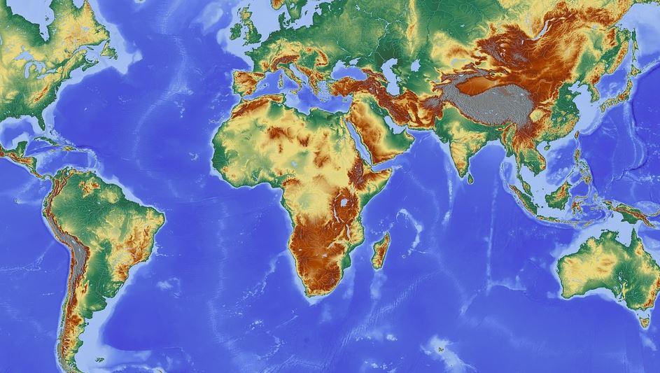 Maailman kartta muutoksessa