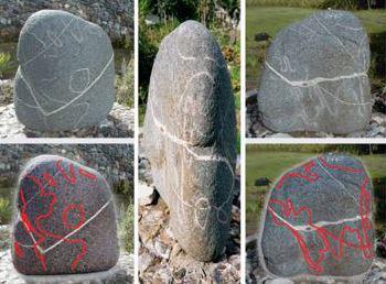 stone map